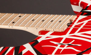 EVH Stripe Series Electric Guitar in Red, Black and White