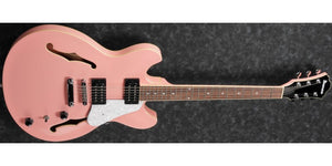 Ibanez AS63-CRP Artcore Vibrante 6 String RH Semi-Hollowbody Electric Guitar in Coral Pink - The Guitar World