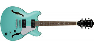 IBANEZ AS63-SFG ARTCORE VIBRANT SAPELE TOP,BACK AND SIDES-SEA FOAM GREEN - The Guitar World