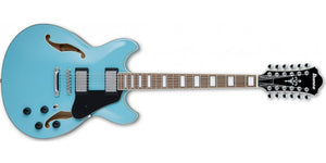 Ibanez AS7312MTB AS Artcore 12 String Mint Blue Hollow Body Electric Guitar