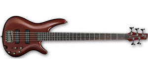 Ibanez SR Electric 5-String Bass IN Root Beer Metallic SR305E-RBM - The Guitar World