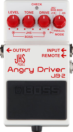 Boss JB-2 Angry Driver Pedal - The Guitar World