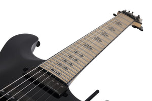 Schecter Jeff Loomis JL-7 FR in Gloss Black SKU 418