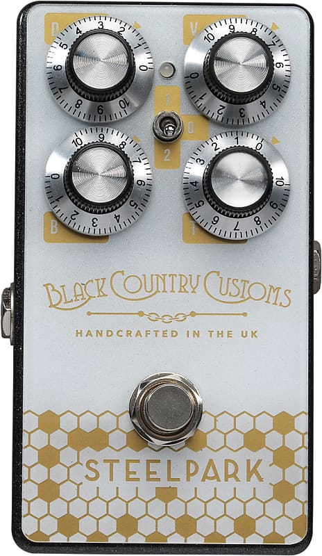 Laney Black Country Customs Steelpark Boost Pedal - The Guitar World