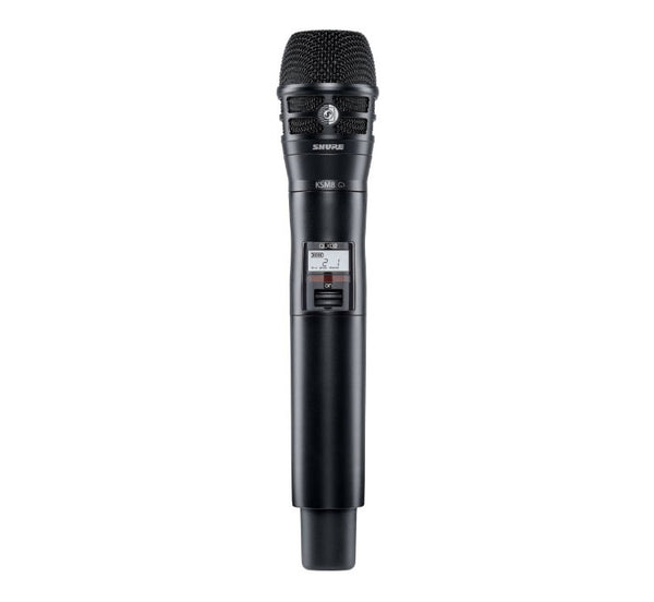 Shure QLXD KSM8 Handheld Wireless Transmitter