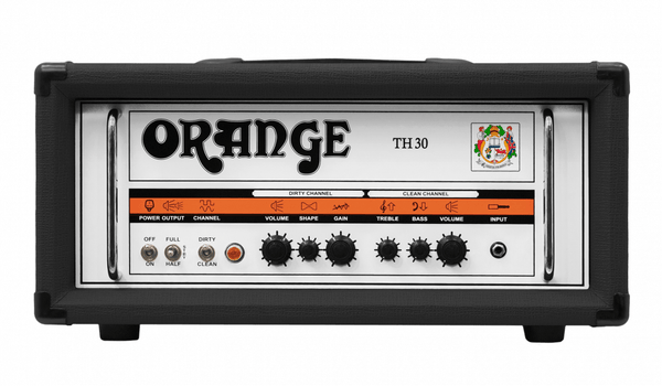 Orange TH30H-BK  Guitar Amplifier Head Black - The Guitar World