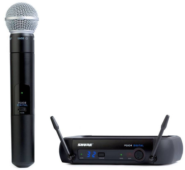 Shure PGXD24/SM58 Wireless Handheld