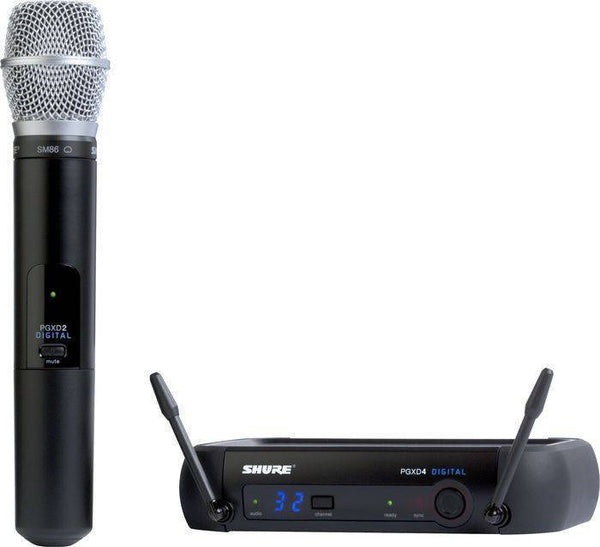 Shure PGXD24/SM86 Wireless Handheld - The Guitar World