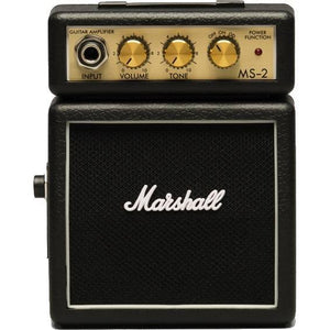 Marshall MS-2 Micro Amplifier - The Guitar World