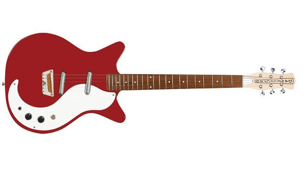 Danelectro Stock '59 6-String Electric Guitar - Vintage Red - The Guitar World