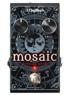 Digitech Mosaic Polyphonic 12-String Effect Pedal - The Guitar World