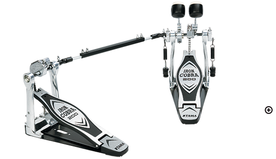 Tama Iron Cobra Twin Double Bass Pedal HP200PTW - The Guitar World
