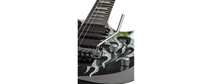 DEAN MICHAEL BATIO MAB1 - ARMORED FLAME INCLUDES HARD SHELL CASE - The Guitar World