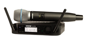 Shure GLXD24R/B87A Handheld Wireless System - The Guitar World