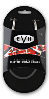 EVH Premium Cable - 1 Ft Straight Ends