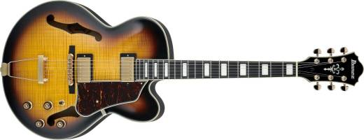 Ibanez Artcore Expressionist AF Hollow Body Guitar in Antique Yellow Sunburst - The Guitar World