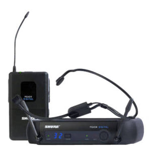 Shure PGXD14/PGA31 Headworn Digital Wireless System - The Guitar World