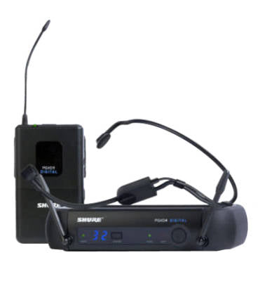 Shure PGXD14/PGA31 Headworn Digital Wireless System