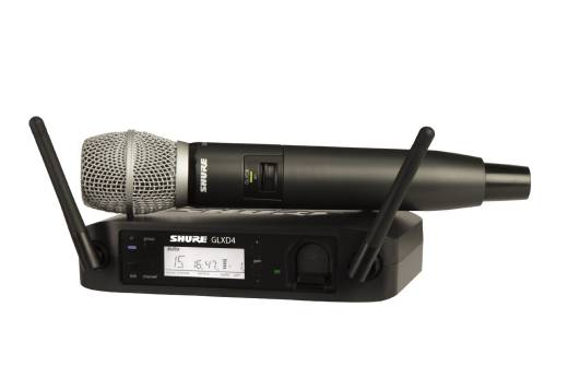 Shure GLXD24/SM86 Wireless Handheld System with SM86 Mic - The Guitar World