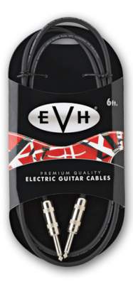EVH Premium Cable - 6 Ft Straight Ends