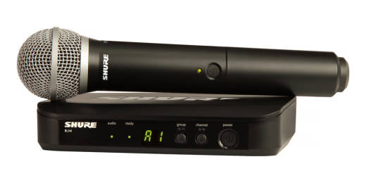 Shure Wireless Handheld System with PG58 Microphone - The Guitar World