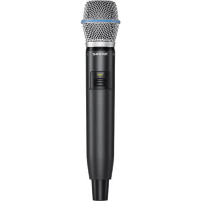 Shure GLXD2 Wireless Handheld Transmitter with Beta 87A Capsule