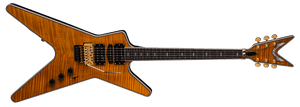 DEAN ML SWITCHBLADE FLOYD HSH - TRANS AMBER - The Guitar World