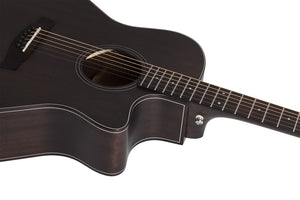 Orleans Studio Acoustic Satin See Thru Black SSTBLK SKU 3713