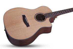 Orleans Studio Acoustic Natural Satin NS SKU 3712 - The Guitar World