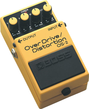 Boss OS-2 OverDrive/Distortion Pedal - The Guitar World