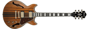IBANEZ AM93ME-NT ARTCORE EXPRESSIONIST MACASSAR EBONY BODY, BACK & SIDES-HIGH GLOSS - The Guitar World