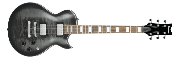 Ibanez ART120QA-TKS Art Standard 6 String RH Electric Guitar inTransparent Black Sunburst