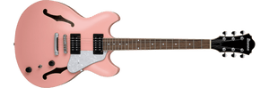 Ibanez AS63-CRP Artcore Vibrante 6 String RH Semi-Hollowbody Electric Guitar in Coral Pink