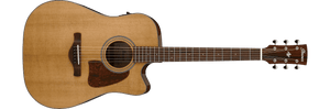 Ibanez AVD9CE-NT Acoustic Electric Guitar in Natural High Gloss