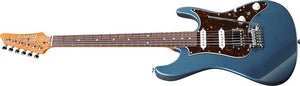Ibanez AZ Prestige Electric Guitar with Case in Prussian Blue Metallic AZ2204NPBM