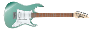 IBANEZ GIO 6 STRING ELECTRIC IN METALLIC LIGHT GREEN - The Guitar World