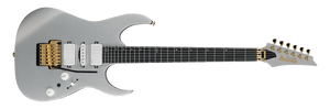 Ibanez Prestige Maple Wenge Neck, Dimarzio Pickups and hardshell case Silver Flat - The Guitar World