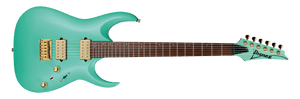 IBANEZ RG NYATOH ROASTED MAPLE NECK-SEA FOAM GREEN - The Guitar World