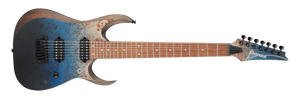 Ibanez RGD Standard 7 String Electric Guitar in Deep Seafloor Fade Flat RGD7521PBDSF
