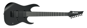 IBANEZ RG IRON LABLE NITRO 7 STRING WITH DIMARZIO PICKUPS IN BLACK FLAT - The Guitar World