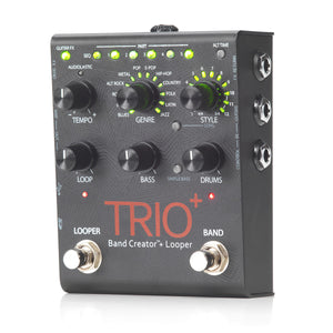 Digitech TRIOPLUS Band Creator and Looper - The Guitar World