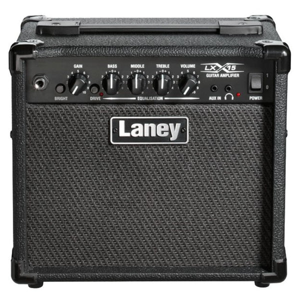 Laney LX15 15 WATT 2x5 Guitar Combo Amp Black