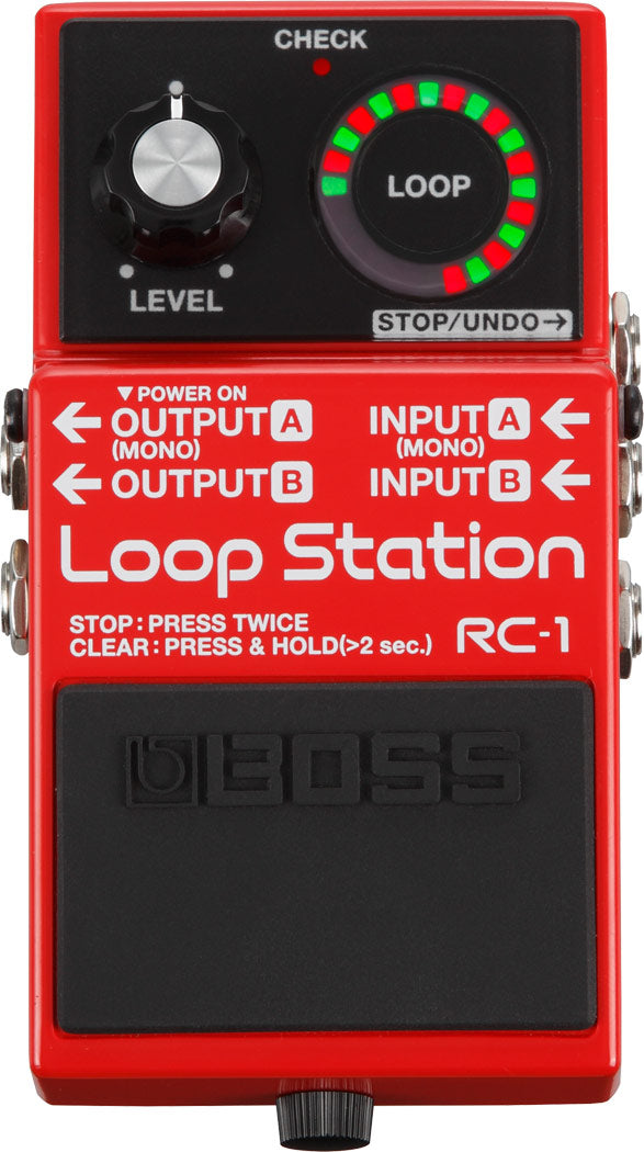 Boss RC-1 Loop Station Pedal - The Guitar World