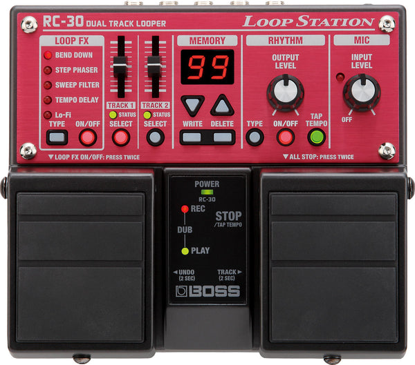Boss RC-30 Loop Station Pedal - The Guitar World