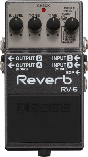 Boss RV-6 Reverb Pedal - The Guitar World