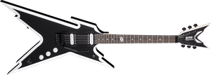 DEAN RAZORBACK DIMEBAG FLOYD - BLACK WHITE - The Guitar World