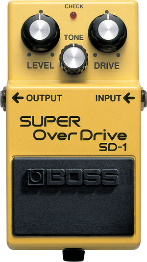 Boss SD-1 Super Overdrive Pedal - The Guitar World