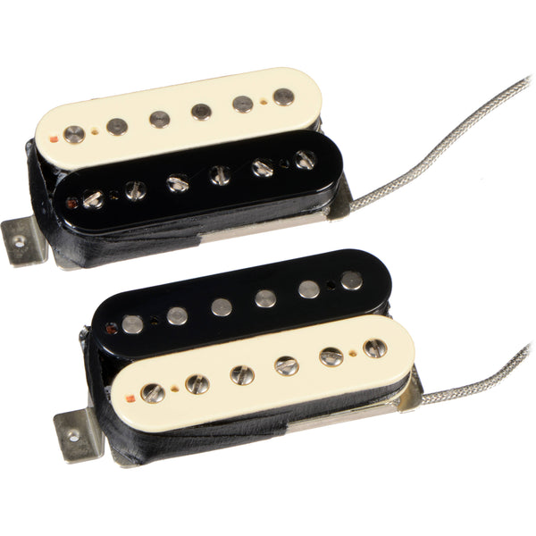 Seymour Duncan Slash Signature Humbucker Set for Neck and Bridge Zebra 11104-08ZRZ