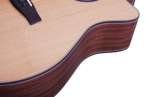 Orleans Studio Acoustic Natural Satin NS SKU 3712
