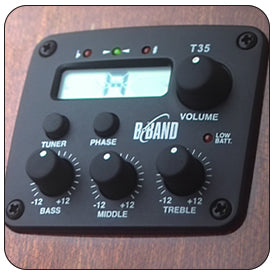 B-band T35 Electronics with built-in tuner